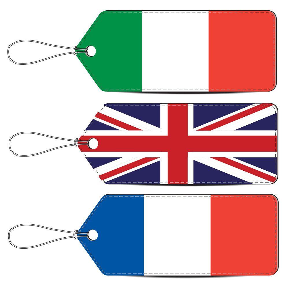 Переводы с английского (французского) языка на итальянский язык